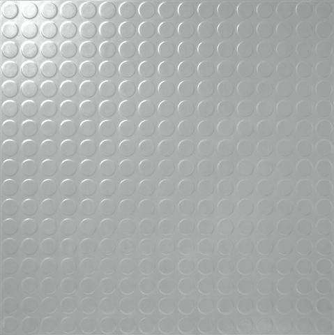 Round Studded Vinyl Sheet Part Rolls L Grey From Safety