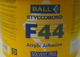 F44 Acrylic Adhesive 1ltr Pot From Safety Flooring Uk