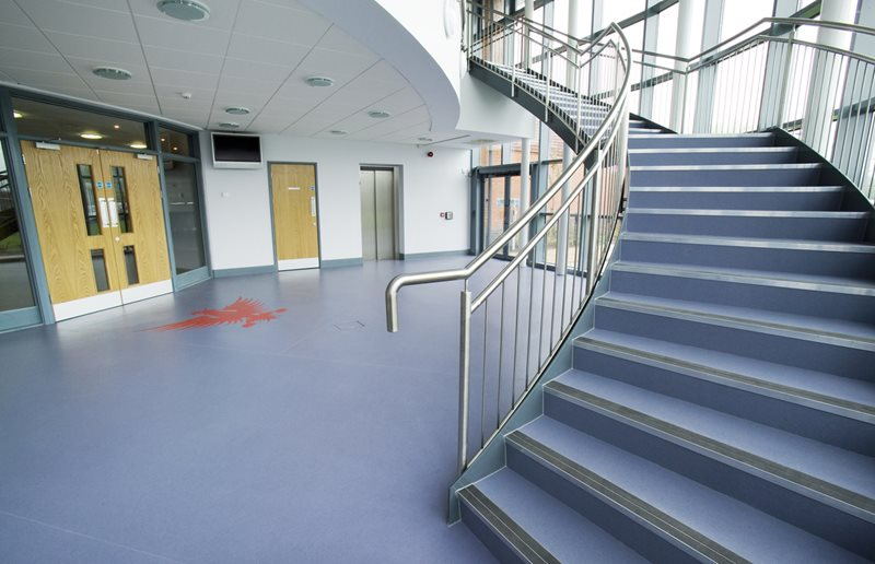 Atro Designer 25 Bone From Safety Flooring Uk