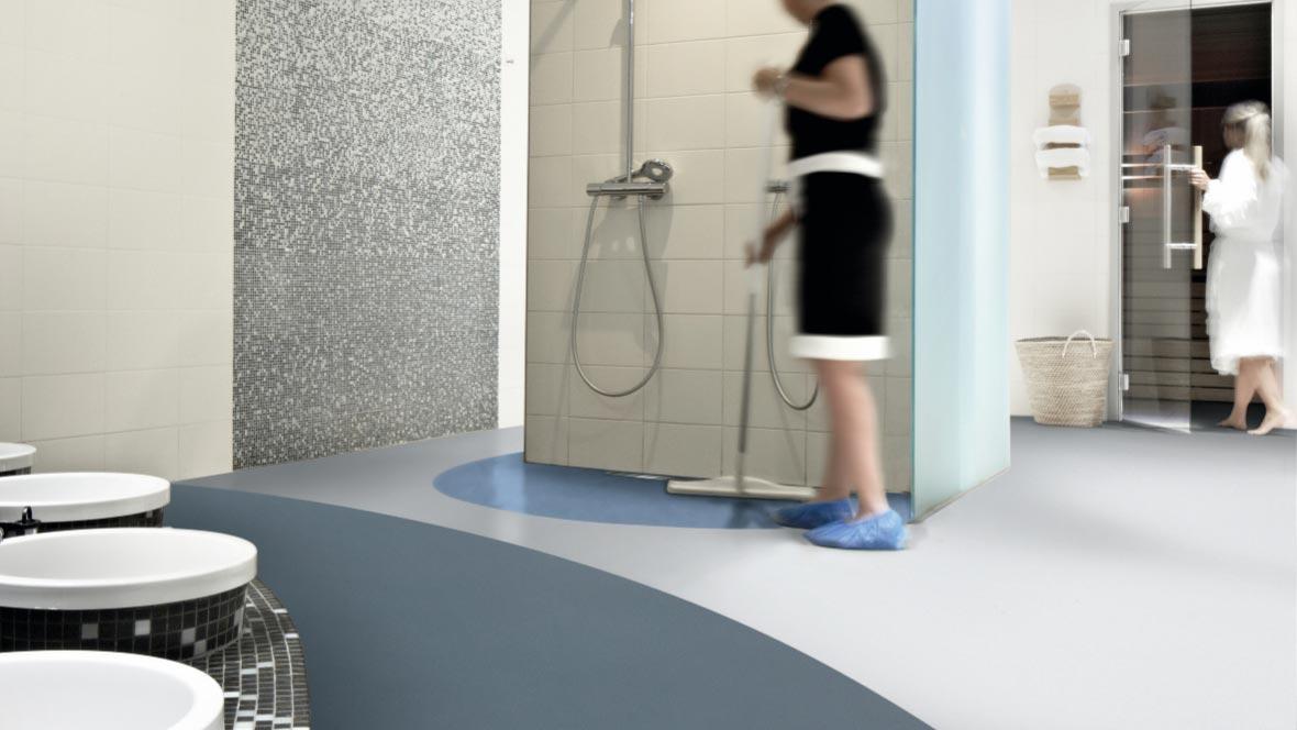 Safestep Aqua - 180352 steel from Safety Flooring UK
