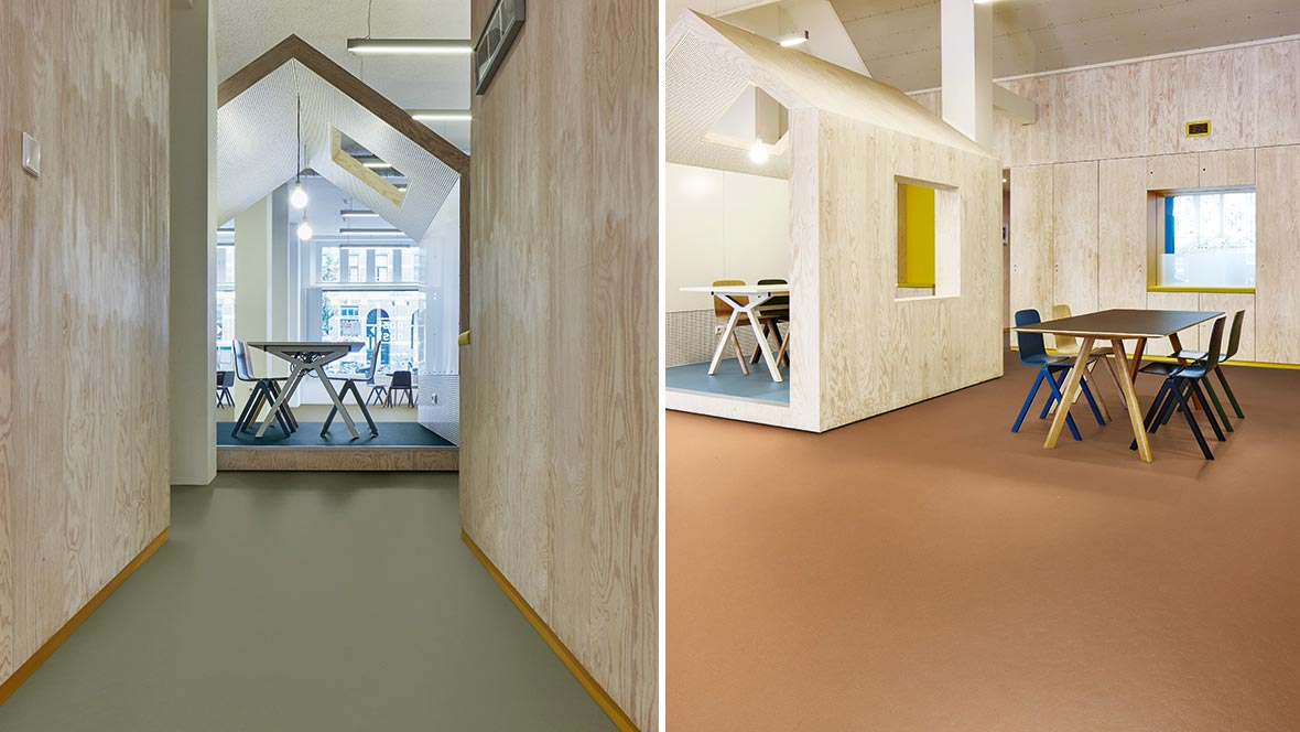 Marmoleum Walton Titanium From Safety Flooring Uk