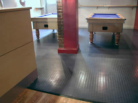 Safe T Black Studded Vinyl Sheet From Safety Flooring Uk